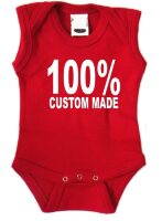 100 procent custom made romper