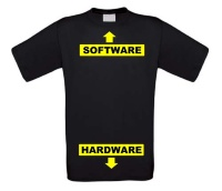 hardware software T-shirt