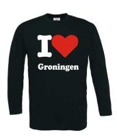 Longsleeve I love Groningen