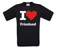 T-shirt I love Friesland