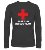 Apres ski rescue team t-shirt lange mouw