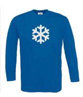 Sneeuwvlok t-shirt lange mouw