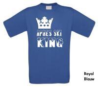 Apre ski king t-shirt korte mouw