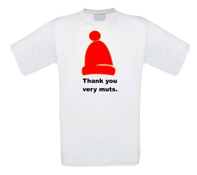thank you very much t-shirt korte mouw