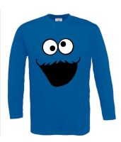monster t-shirt met lange mouw