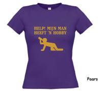 Help mijn man heeft een hobby t-shirt korte mouw