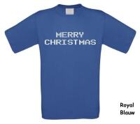merry christmast t-shirt korte mouw