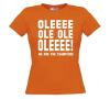 foto 2 oleee ole ole we are the champions t-shirt korte mouw