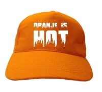 Oranje is hot pet