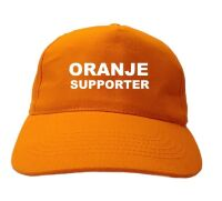 oranje supporter pet