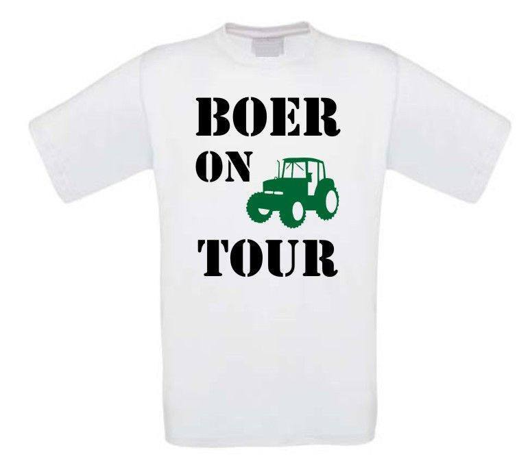 Boer on tour t-shirt korte mouw
