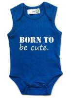 born to be cute romper