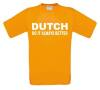 dutch do it always better t-shirt korte mouw