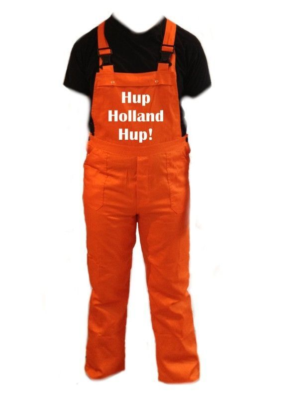 hup holland hup tuinbroek overall oranje