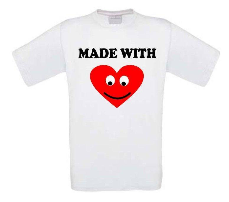 made wit love t-shirt korte mouw