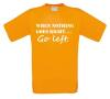 foto 4 when nothing goes right go left t-shirt korte mouw