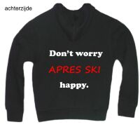 apre ski dont worry apres ski happy vest