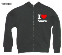 apre ski  i love snow vest