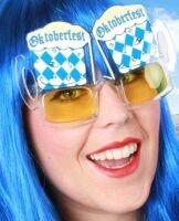 Oktoberfest bierfeest bril bierbril aanbieding