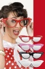 jumbo party glasses diamond