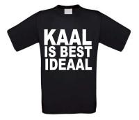 Kaal is best ideaal T-shirt korte mouw