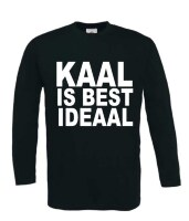 Kaal is best ideaal T-shirt lange mouw