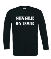 single on tour t-shirt lange mouw