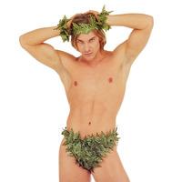 Adam set van bladeren