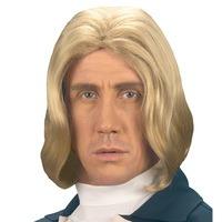 Pruik Amadeus blond