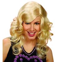 Pruik Brandy lang blond haar