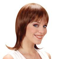 Pruik Celine half lang bruin haar
