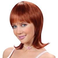 Pruik Celine half lang licht bruin haar