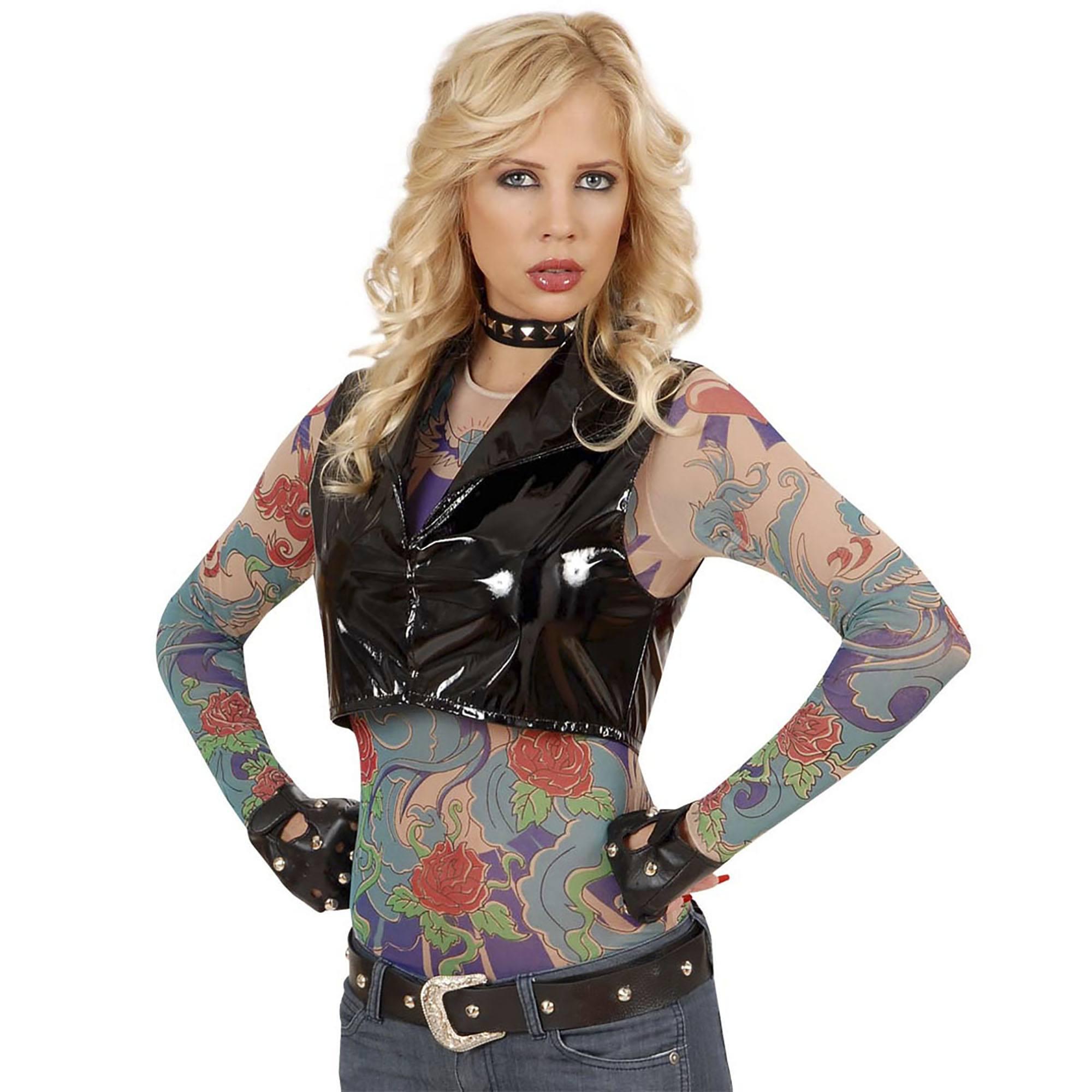 Tattoo t-shirt engelenvleugel vrouw dames ...