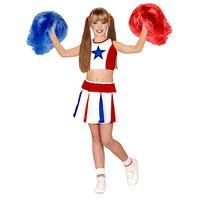 Amerikaans cheerleader kostuum kind