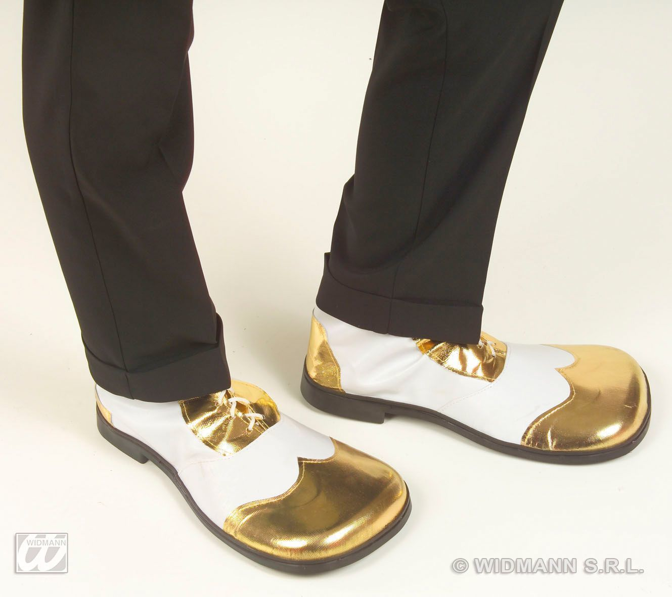 bling bling party schoenen wit met goud