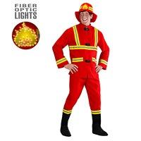 Brandweerman kostuum fireman
