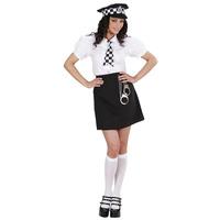 Brits politie vrouw kostuum