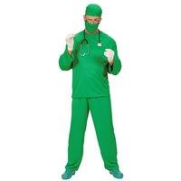 Chirurg groen operatie verkleed kostuum