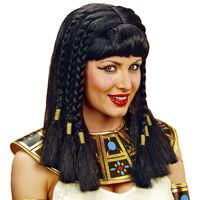 Cleopatra pruik volwassen queen of the nile