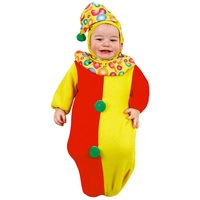 Clown baby jumpsuit