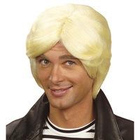 Foute pruik blond Claude