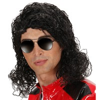 Pruik Michael Jackson king of pop