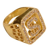 Diamanten ring goud