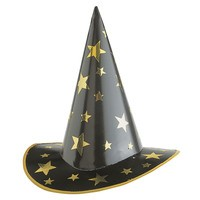 Kartonnen heksen hoed low buget