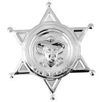 Sheriff ster luxe uitvoering