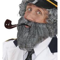 Baard grijs zeeman kapitein