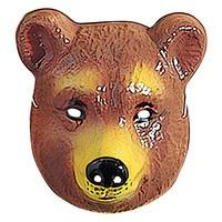 Kindermasker beer plastic