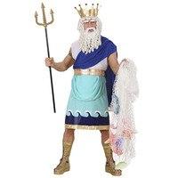 Mystieke god poseidon kostuum