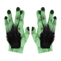 Paar frankenstein handen met haar