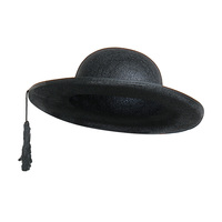 Priester hoed zwart vilt volwassen